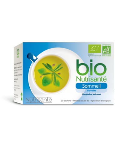 INFUSIONS BIO Sommei - 20 sachets
