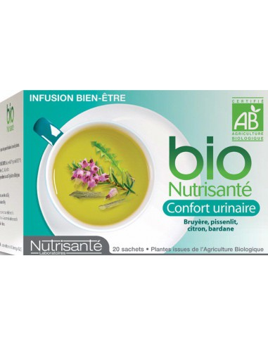 Infusion Confort Urinaire, 20 sachets