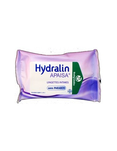 Hydralin Quotidien Lingettes - lot de 10