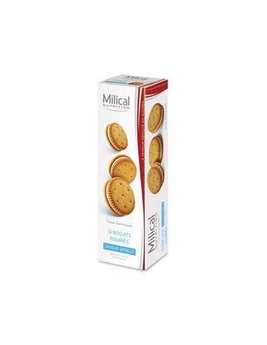 Biscuits Vanille, 12 biscuits