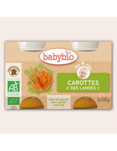 Petit pot de légumes Carottes des...