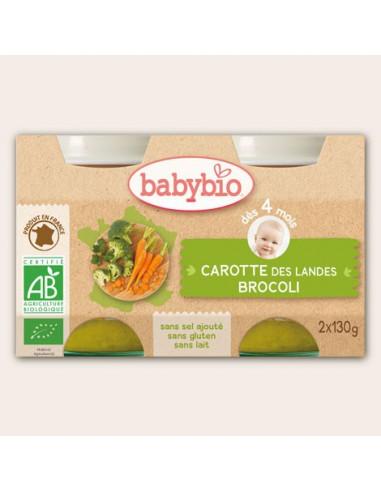 Petit pot de légumes Brocoli-Carotte,...