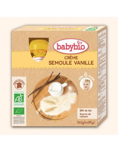 Gourde Dessert Lacté - Crème Semoule...