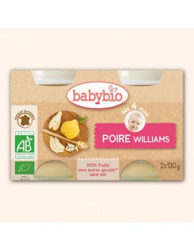 Petit Pot Fruits - Poire Williams,...