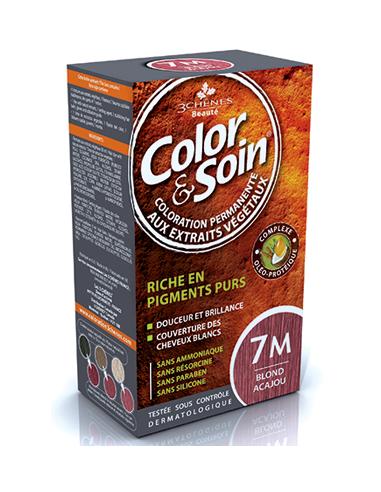 Color & Soin Coloration Blond Acajou 7M