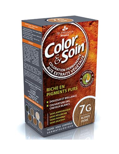 Color & Soin Coloration Blond Doré 7G