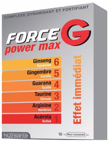 FORCE G Power Max, 10 ampoules