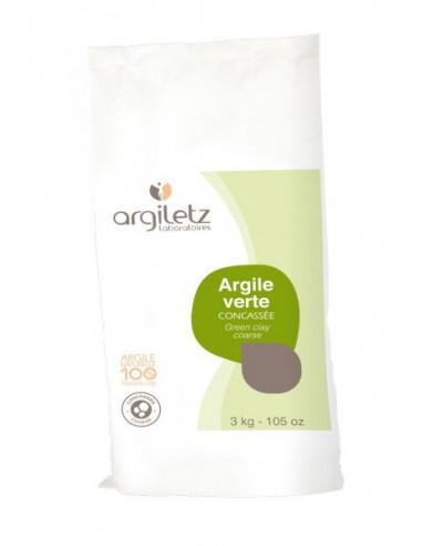 ARGILETZ Argile Verte Concassée - 3kg