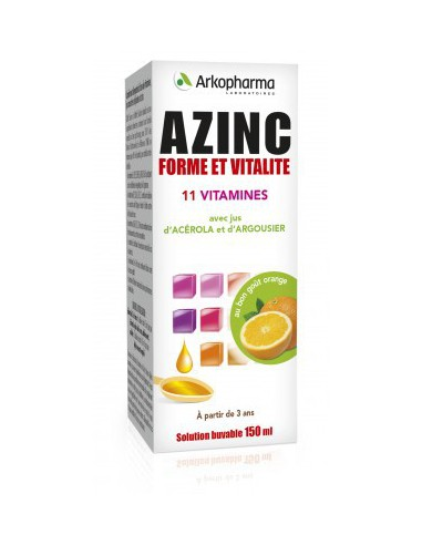 Azinc - Forme et Vitalité Solution...