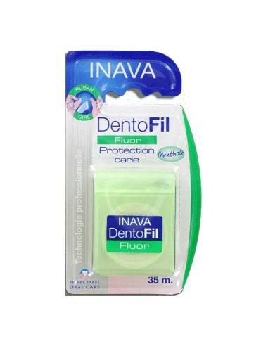 INAVA Dentofil Fluor Mentholé Ciré - 35m