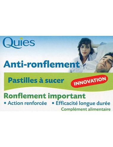 Pastilles anti ronflement - 12 pastilles