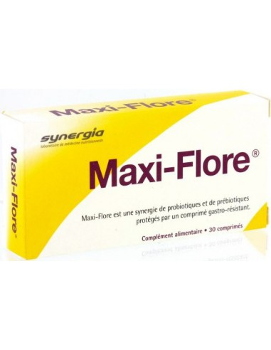 Maxi flore, 30 comprimés
