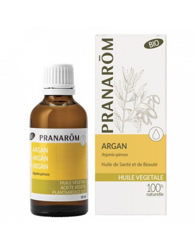 Huile végétale d'Argan Bio - 50ml