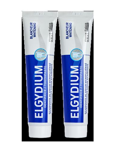 Dentifrice ELGYDIUM Blancheur - 2x75ml