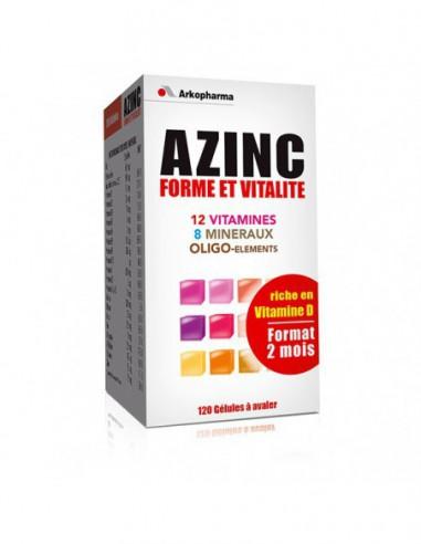 Azinc Forme et Vitalité - 120 Gélules