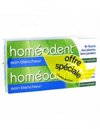 Boiron HOMEODENT soin blancheur - 2x75ml
