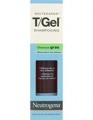 T/Gel Shampooing Cheveux Gras, 250 ml