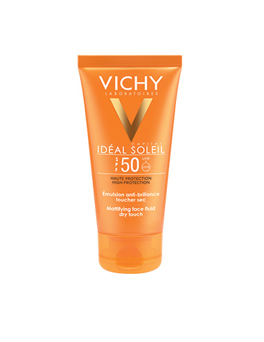 IDEAL SOLEIL Emulsion Toucher Sec SPF...