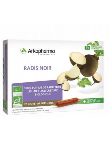 Arkofluide Radis Noir - 20 ampoules