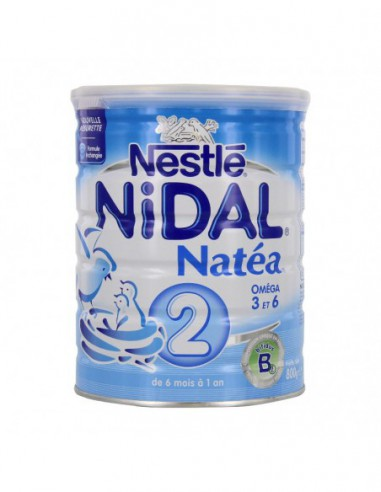 Nidal Lait Natéa 2ème âge - 800g