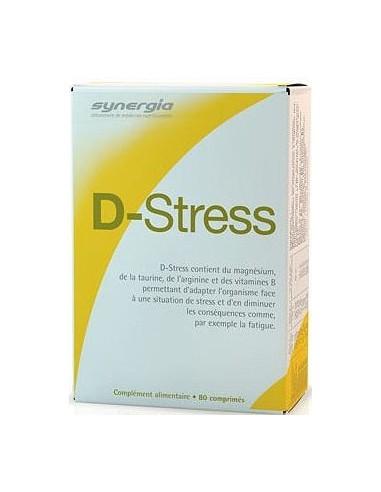 D Stress anti fatigue, 80 comprimés