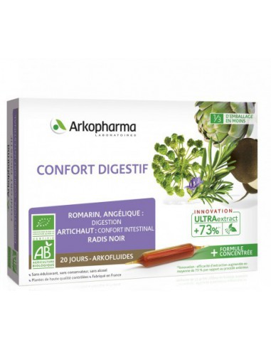 Arkofluides Digestion - 20x10ml