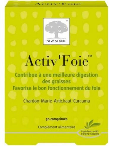 Activ'Foie, 30 comprimés