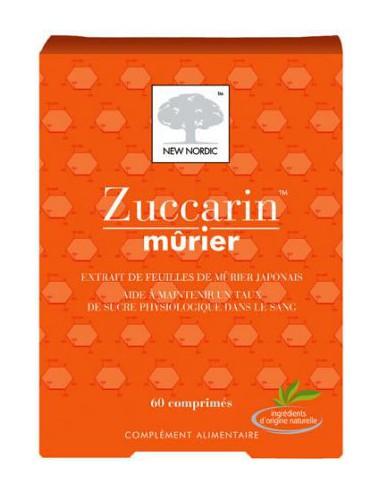 Zuccarin mûrier, 60 comprimés