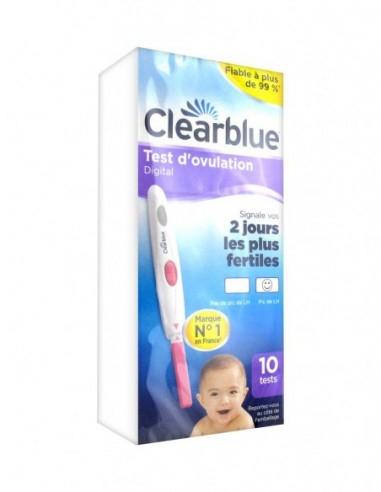 Clearblue Test d'Ovulation Digital 2...