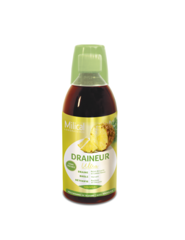 Draineur Minceur Ultra Goût Ananas -...
