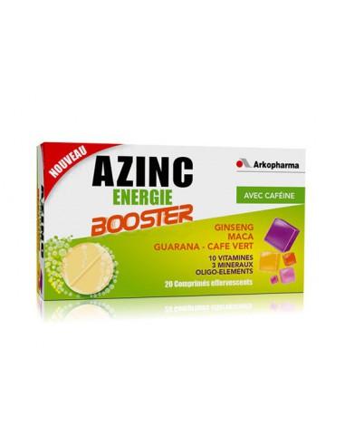 AZINC Energie Booster - 20 comprimés...