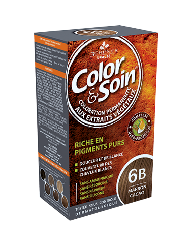 Color & Soin Coloration Marron Cacao 6B