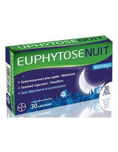 EuphytoseNuit Mélatonine - 30 comprimés