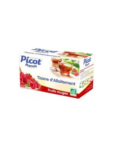 Tisane d'Allaitement Fruits Rouges -...