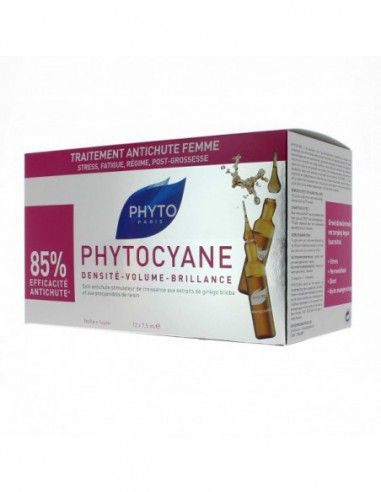 Phytocyane Antichute - 12 ampoules