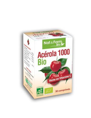 ACÉROLA 1000 BIO - 30 comprimés