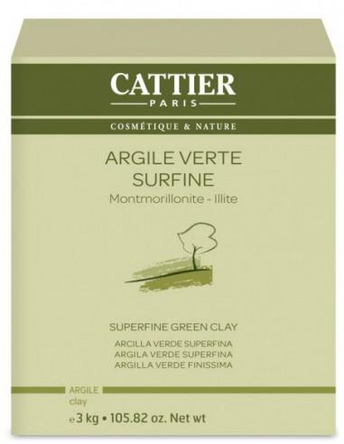 Argile Verte Surfine < 77 microns - 3kg