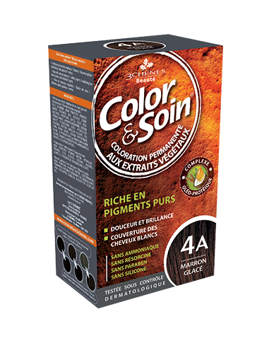 Color & Soin Coloration Marron Glacé 4A
