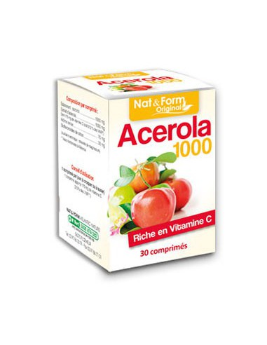 Acérola 1000 - 30 comprimés