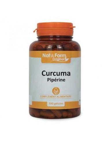 Curcuma Piperine - 200 gélules
