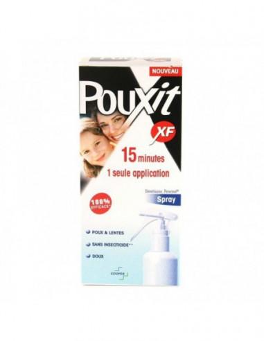 POUXIT XF Anti-Poux & Lentes Spray -...