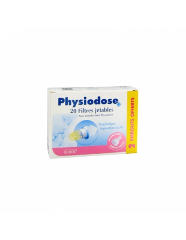 Gifrer Physiodose Filtres Jetables -...