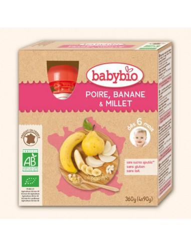 Gourde Fruits Poire, Banane, Millet -...