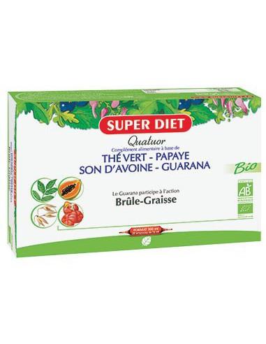 Quatuor Guarana Brûle-Graisse Bio -...