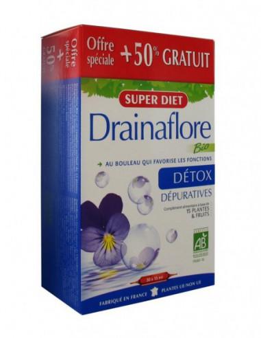 Drainaflore Bio - 30 ampoules