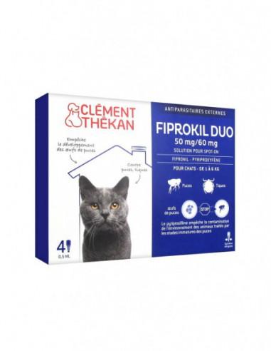 Clément Thékan Fiprokil Duo 50mg/60mg...