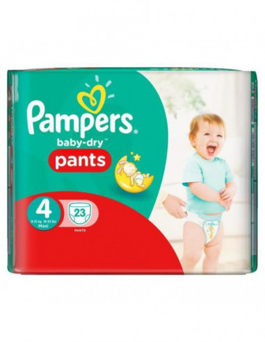 Couches Baby-Dry Pants Taille 4...