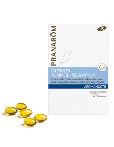 Sommeil - Relaxation - 30 capsules