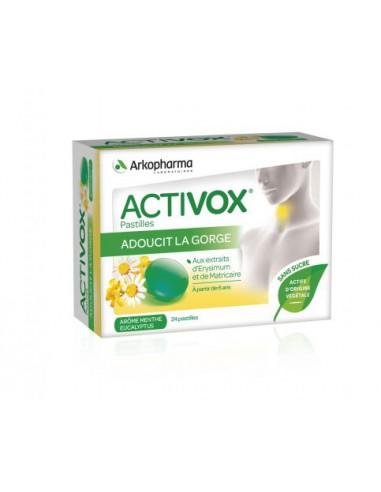 Activox® Pastilles, arôme Menthe...