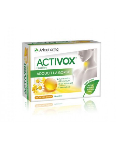 Activox® Pastilles Arôme Miel Citron...